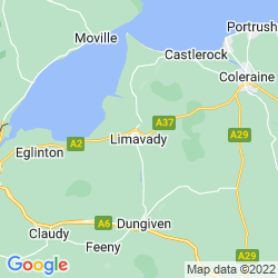 Map of Limavady