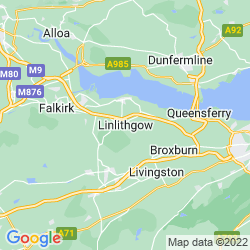 Map of Linlithgow