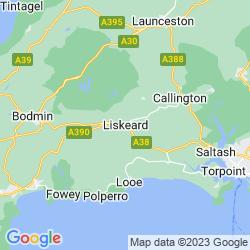 Map of Liskeard