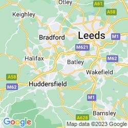 Map of Liversedge