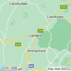 Map of Llandeilo