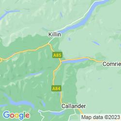 Map of Lochearnhead