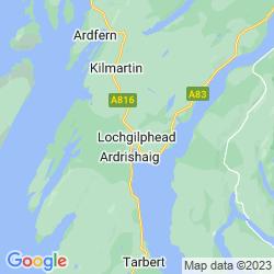 Map of Lochgilphead