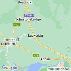 Map of Lockerbie