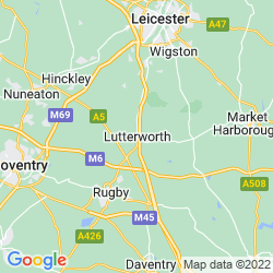 Map of Lutterworth