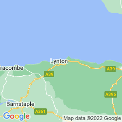 Map of Lynmouth
