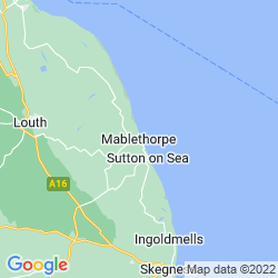Map of Mablethorpe