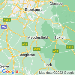 Map of Macclesfield