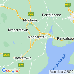 Map of Magherafelt