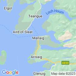 Map of Mallaig
