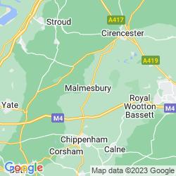 Map of Malmesbury