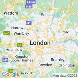 Map of Marylebone