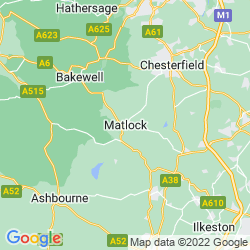 Map of Matlock