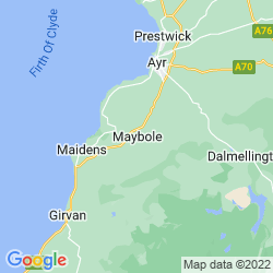 Map of Maybole