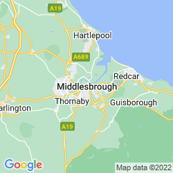 Map of Middlesbrough
