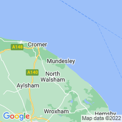 Map of Mundesley