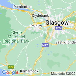 Map of Neilston