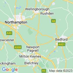 Map of Olney