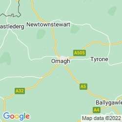 Map of Omagh