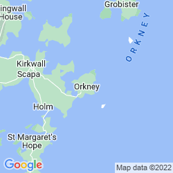 Map of Orkney