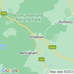 Map of Otterburn