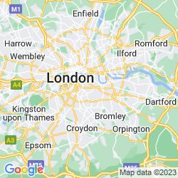 Map of Peckham
