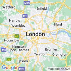 Map of Pimlico