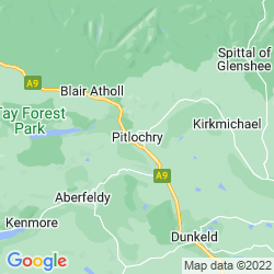 Map of Pitlochry