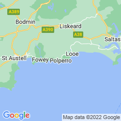 Map of Polperro