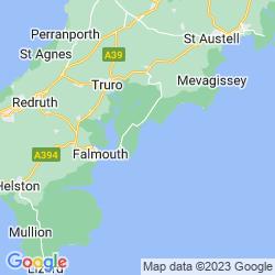Map of Portscatho