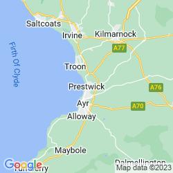 Map of Prestwick
