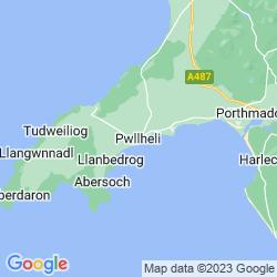 Map of Pwllheli