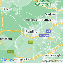 Map of Reading