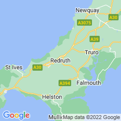 Map of Redruth