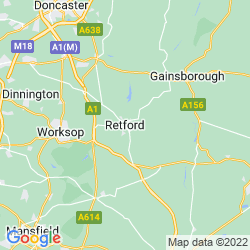 Map of Retford