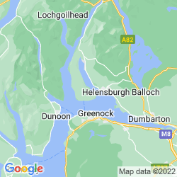 Map of Rosneath