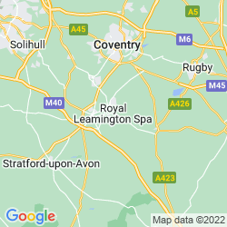 Map of Royal Leamington Spa