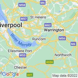 Map of Runcorn