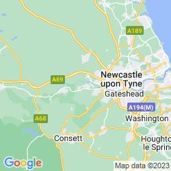 Map of Ryton