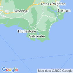 Map of Salcombe