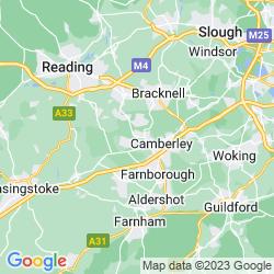 Map of Sandhurst
