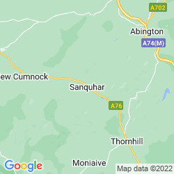 Map of Sanquhar