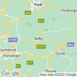 Map of Selby