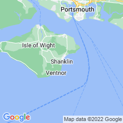 Map of Shanklin