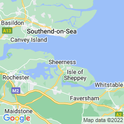 Map of Sheerness