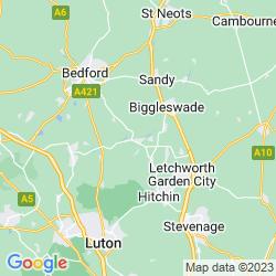 Map of Shefford