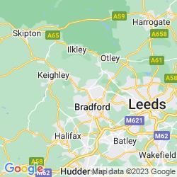 Map of Shipley