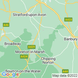 Map of Shipston-on-Stour