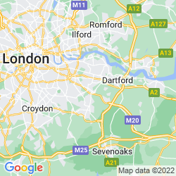 Map of Sidcup