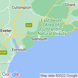 Map of Sidmouth